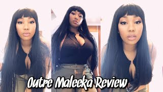 Maleeka Outre Wig Review | Curly Monroe