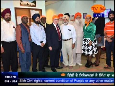 Vaisakhi Celebration at Gurdwara Sikh Study Circle Atlanta , Georgia - Kuldip Singh