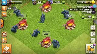 Clash of clans #1  if we hit 65 subscribers I'll do 2 videos in one day