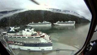 Alaska Coral Princess Cruise Train Vacation Denali Park, Glacier, Gold, Planes, Bears!