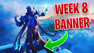 Fortnite Week 8 SECRET/HIDDEN BANNER LOCATION - Season 7