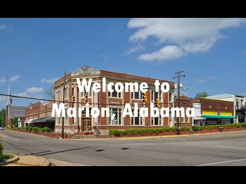 Welcome to Marion, Alabama