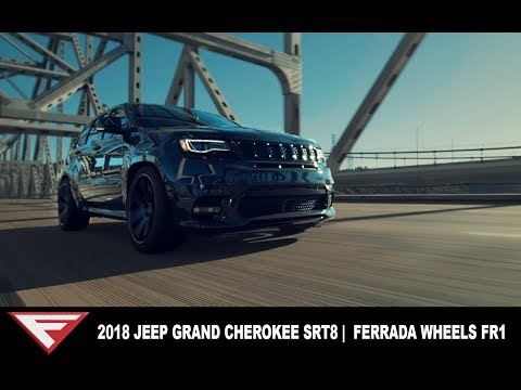 2018 Jeep Grand Cherokee SRT8 | Getting Groceries in Style | Ferrada Wheels FR1