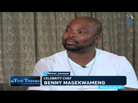 #theTrend: Celebrity chef Benny Masekwameng on his culinary journey to being a top chef