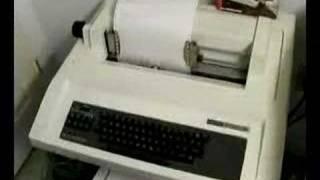 PDP-11/40 computer and LA36 DecWriter II