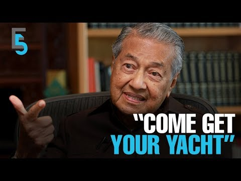 EVENING 5: Dr M dares Equanimity owner to reclaim yacht