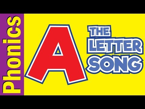 The Letter A Song | Phonics Song | The Letter Song | Songs For Children | Fun Kids English