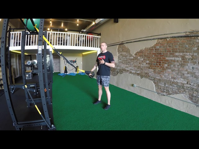 TRX 1 Arm Rotational Row