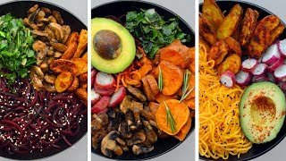 3 Easy Vegan Buddha Bowl Recipes