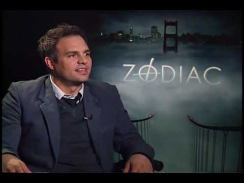 Zodiac Mark Ruffalo interview