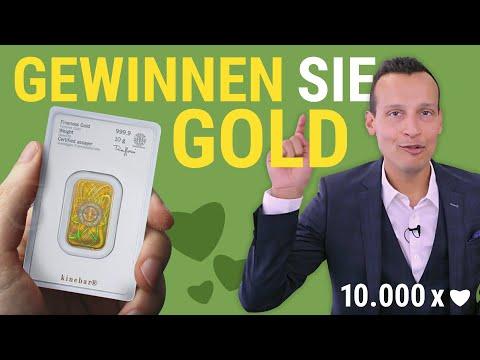 GEWINNEN SIE GOLD! Das 10.000 Abonnenten Gewinnspiel ????