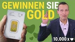 GEWINNEN SIE GOLD! Das 10.000 Abonnenten Gewinnspiel 💰 BEENDET 💰
