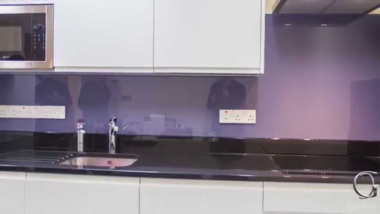 designing my kitchen quot why cool grey looks puprle quot glass kitchen splashback 3308
