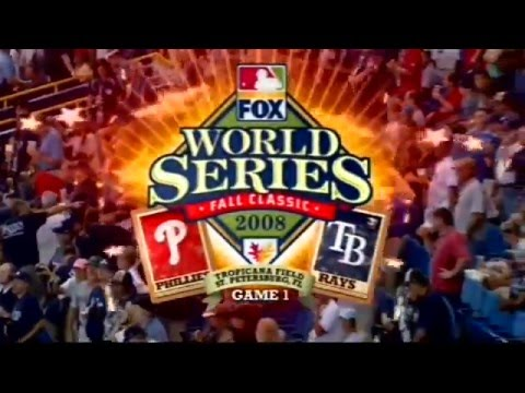 2008 World Series - Game 1 - Phillies vs Rays