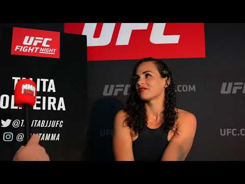 Talita Oliveira talks late notice UFC Rotterdam debut against Marion Reneau