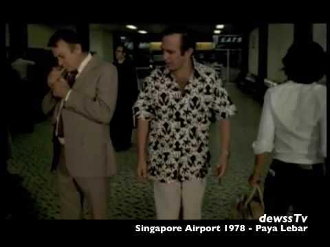 Old Singapore Airport 1978 - Paya Lebar