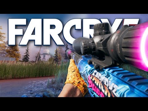 Far Cry 5 - *NEW* BLOOD DRAGON SNIPER (Far Cry 5 Free Roam) thumbnail