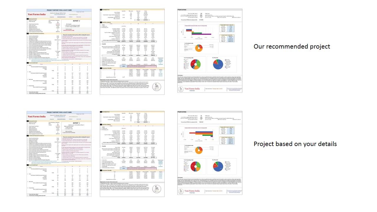 Goat farm project report
