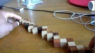 Easiest Way To Solve The Snake Puzzle