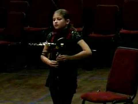 Northumbrian Small Pipes - Chloe Corrigan (aged 10)