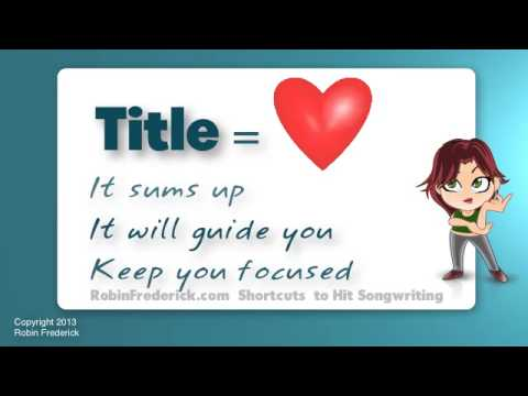 How To Write Song Tip Start With Le