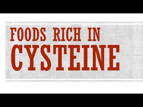 Cysteine Foods Rich Foods Rich in Cysteine Foods
