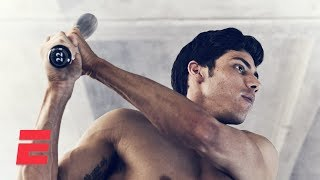Christian Yelich in the Body Issue: Behind the scenes | Body Issue 2019