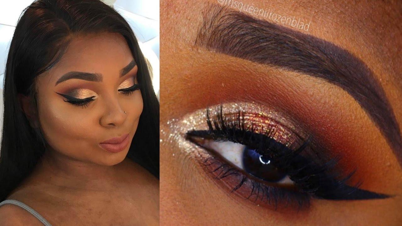 Smokey Cut Crease Makeup Tutorial Queenii Rozenblad YouTube
