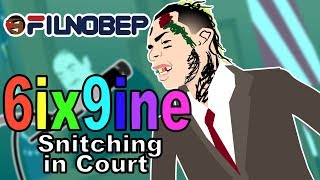 6ix9ine Snitching on Treway! (Tekashi69 snitches Cartoon Parody)