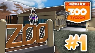 STARTING MY OWN ZOO! | ROBLOX ZOO TYCOON #1
