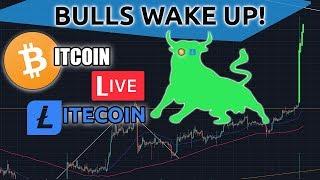 Bitcoin & Litecoin Bulls Wake Up...AGAIN