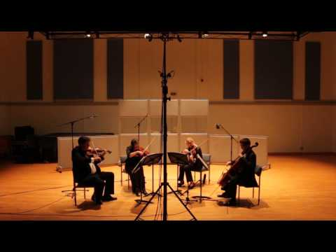 artington string quartet plays James Bond Theme by Monty Norman, arr.Julian Kershaw