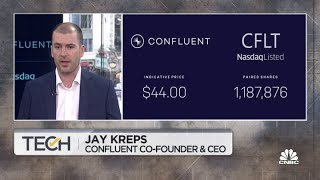 Confluent co-founder and CEO Jay Kreps on IPO, Nasdaq trading debut