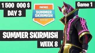Fortnite Summer Skirmish Week 8 Day 3 Game 1 Highlights PAX WEST