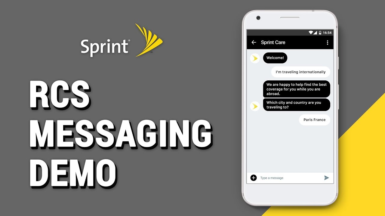 Sprint - Improving Customer Experience with RCS Business Messaging
