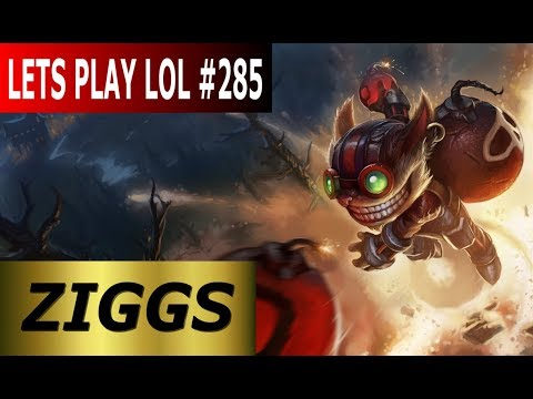 Ziggs Top - Full Gameplay [Deutsch/German] Let's Play League of Legends #285