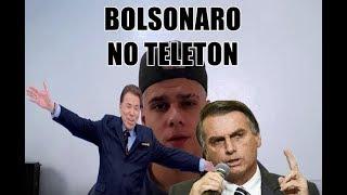 SÍILVIO SANTOS, BOLSONARO E BOICOTE AO TELETON