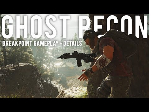 Ghost Recon Breakpoint Gameplay and details