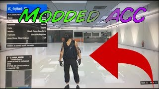 GTA 5 ONLINE PS3 MODDED ACCOUNT GIVEAWAY *MODDED TRYHARD/RNG OUTFITS*
