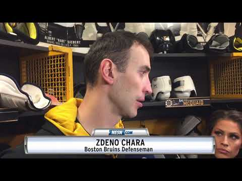 Zdeno Chara Shares His Thoughts Following Win Vs. Ottawa