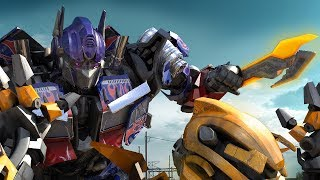 Transformers: Optimus Prime VS Bumble Bee (FanMade)
