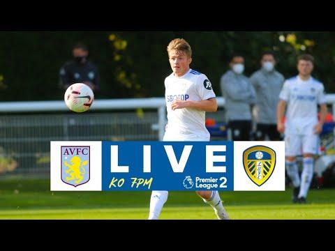 LIVE FOOTBALL | Aston Villa U23  v Leeds United U23 | Premier League 2