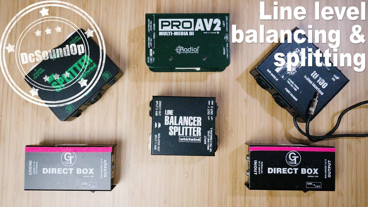 #51 - How To: Splitting, Balancing & Isolating Line Level Audio signals