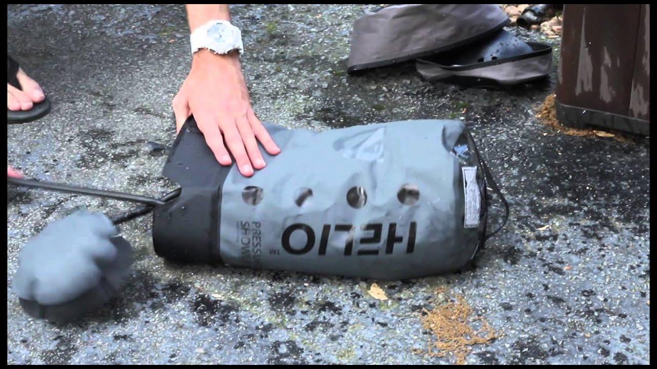 Nemo Helio Pressure Camp Shower Td Product Demo Doovi