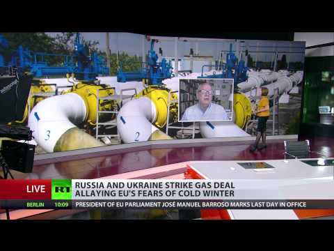 'Ukraine gas poker with Russia not over'