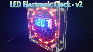 [Tutorial] How To Assembling LED Electronic Clock - v2