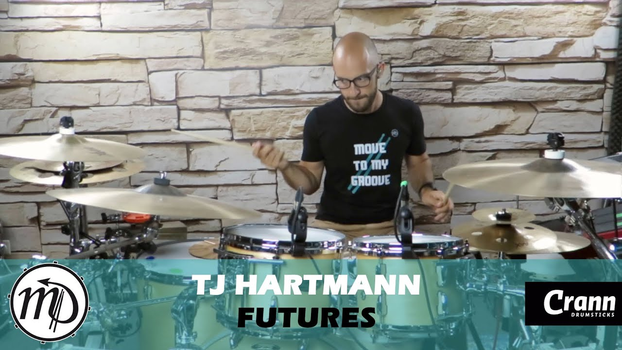 Futures - David Raouf/TJ Hartmann - Drum Cover Drumeo (Electro) PEARL Maple Gum