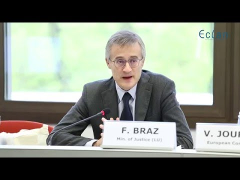 ECLAN annual conference 2016 -  Félix Braz, minister of justice of Luxembourg