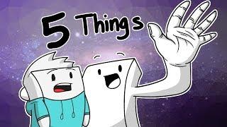 Hey Alex, It's my 5 things thumbnail