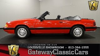 1990 Ford Mustang 5.0 LX Convertible - Louisville Showroom - Stock #1253